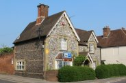 Flint house, corner of Bridge Street, Wickham