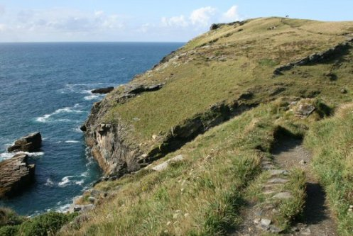 Footpath to Barras Nose, Tintagel