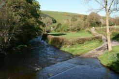 Ford across Badgworthy Water, Malmsmead, Exmoor
