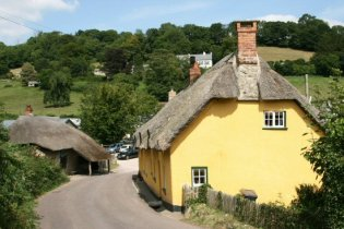 Forge Cottages and Branscombe Forge, Branscombe