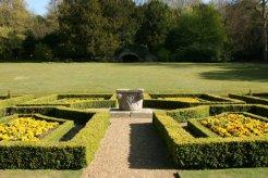 Formal garden, Clandon Park, West Clandon