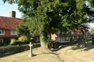 Former Weavers' Cottages, from St. Mary's Churchyard, Goudhurst