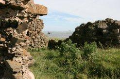 Ruins of Fort Osborne, on The Heugh, Holy Island, Lindisfarne