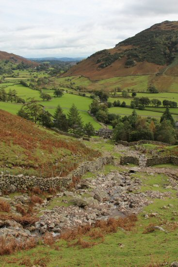 From Dungeon Ghyll footpath, Great Langdale