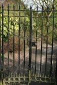 Gates to Alice Garden, Castle Grounds, Guildford