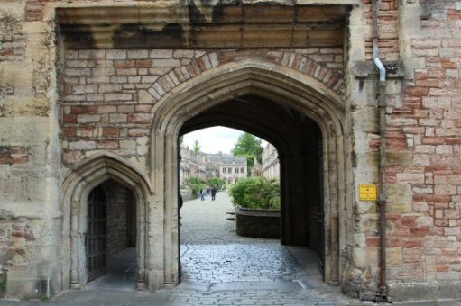 Gateway, Vicars' Close, Wells