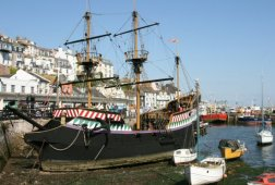 'Golden Hind' Replica, (Sir Francis Drake's ship) Brixham
