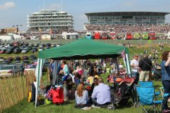 Grandstands and Lonsdale Enclosure, Queen's Diamond Jubilee, The Epsom Derby