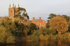 Hereford Cathedral and Bishop's Palace, Hereford