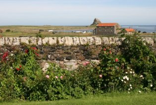 Holy Island, Lindisfarne, from The Manor House Hotel
