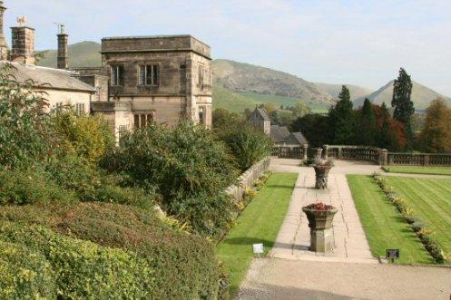 Ilam Hall and Italian Gardens, Ilam Park, Ilam, Peak District