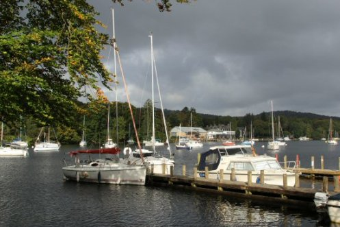 Jetty, Fell Foot Park, Newby Bridge, Lake Windermere
