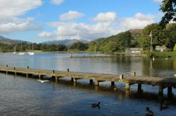 Jetty, Waterhead, Lake Windermere