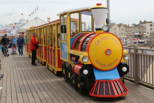 Land Train, Grand Pier, Weston-super-Mare