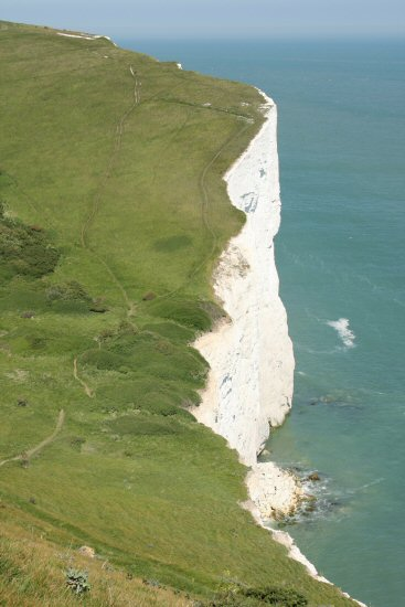 Langdon Cliffs, looking towards South Foreland, White Cliffs of Dover