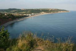 Lyme Bay, from White Cliff, Seaton