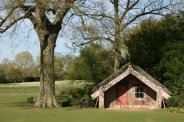 Maori Meeting House, Hinemihi, Clandon Park, West Clandon