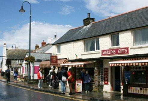 Merlins Gifts, Tintagel