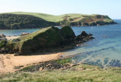 Mouthwell Beach, from Mouthwell Point, Hope Cove
