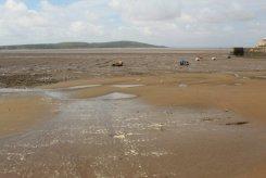Mud flats, low tide, Weston-super-Mare