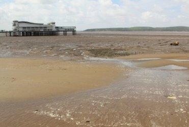 Mud flats, Weston-super-Mare