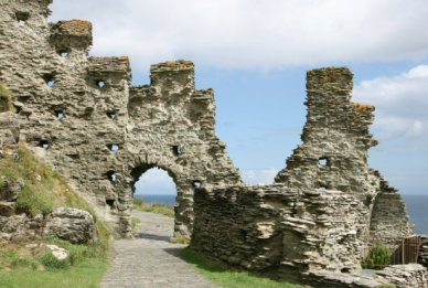 North Gate, Inner Ward, Tintagel Castle, Tintagel