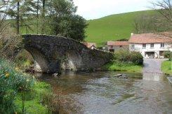 Packhorse Bridge and ford, Malmsmead, Exmoor