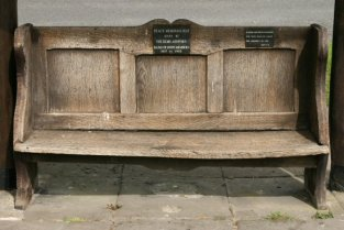 Peace Memorial Seat, Ashford in the Water
