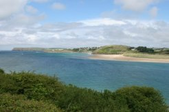 Pentire Point and Trebetherick, River Camel Estuary, Padstow