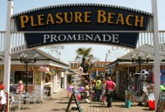 Pleasure Beach Promenade, Skegness