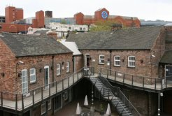 Potbank and The Potteries Shopping Centre, Dudson Pottery Museum, Hope Street, Hanley, Stoke-on-Trent
