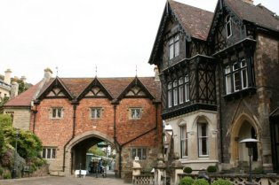 Priory Gatehouse and Abbey Hotel, Great Malvern