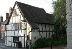 Priory Tea Rooms and Restaurant, Much Wenlock
