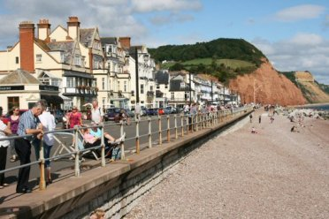 Promenade and beach, Sidmouth