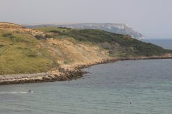 Redcliff Point and White Nothe, from Furzy Cliffs, Weymouth