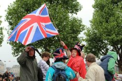 Revellers, Queen's Diamond Jubilee, Thames Pageant
