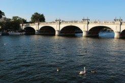 River Thames and Kingston Bridge, Kingston upon Thames
