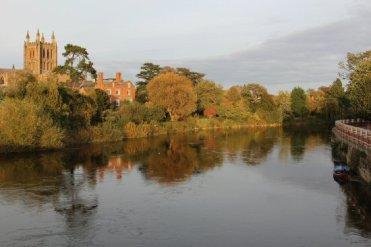 River Wye, Hereford