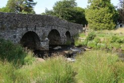 Road bridge, over East Dart River, Postbridge, Dartmoor
