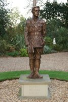 Rupert Brooke statue, The Old Vicarage, Grantchester