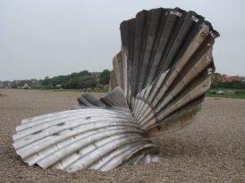 Scallop, Aldeburgh. Sculpture to celebrate Benjamin Britten