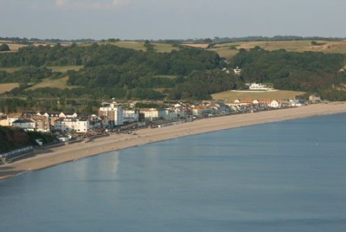 Seaton, from White Cliff