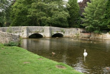 Sheepwash Bridge, over River Wye, Ashford in the Water