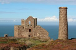 Stamps and Whim Engine House, Wheal Coates Mine, St. Agnes