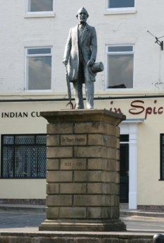 Statue of Sir Henry Doulton, Burslem, Stoke-on-Trent