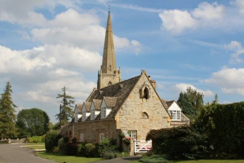 St. Gregory's Church and The Old School, Tredington