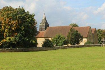 St. James Church, beside village green, Abinger Common