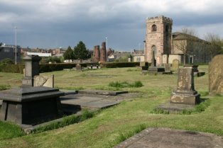 St. John's Churchyard, Burslem, Stoke-on-Trent