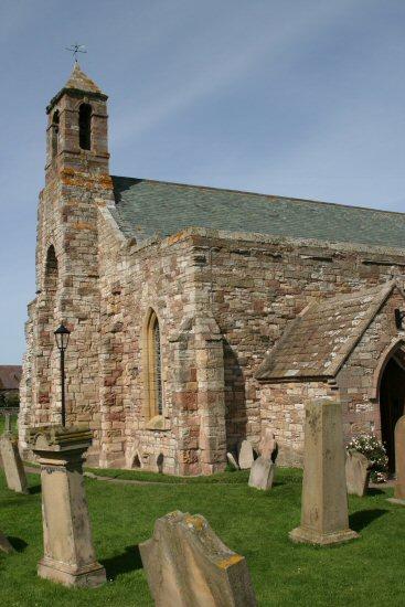 St. Mary's Church, Holy Island, Lindisfarne