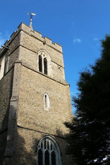 St. Mary's Church Tower, Westmill